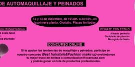 CURSOS DE AUTOPEINADO Y AUTOMAQUILLAJE EN EL CENTRO COMERCIAL AROUSA