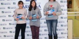 AROA BARCALA Y CARMEN CAMPOY, DE VILAGARCÍA, GANAN EL CONCURSO LITERARIO UN CUENTO DE NAVIDAD