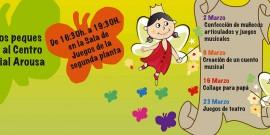 EL CENTRO COMERCIAL AROUSA ESTRENA MAÑANA  NUEVA PROGRAMACIÓN INFANTIL
