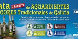 EL CENTRO COMERCIAL AROUSA ORGANIZA UNA CATA DE AGUARDIENTES Y LICORES DE GALICIA