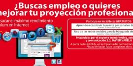 EL CENTRO COMERCIAL AROUSA ORGANIZA DOS CURSOS SOBRE EL USO DE HERRAMIENTAS 2.0 PARA LA BÚSQUEDA O MEJORA DE EMPLEO