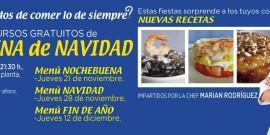 El CENTRO COMERCIAL AROUSA ORGANIZA CLASES PRÁCTICAS DE COCINA DE NAVIDAD