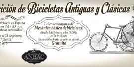 LA HISTORIA RECIENTE DE LA BICICLETA EN ESPAÑA PROTAGONIZA LA NUEVA EXPOSICIÓN DEL CENTRO COMERCIAL AROUSA
