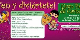 PROGRAMACIÓN INFANTIL DE MARZO