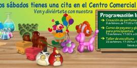 EL CENTRO COMERCIAL AROUSA RENUEVA SU PROGRAMACIÓN INFANTIL CON ORIGINALES PROPUESTAS