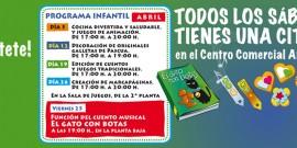 ACTIVIDADES CENTRADAS EN EL DÍA DEL LIBRO Y LA PASCUA MARCAN LA NUEVA PROGRAMACIÓN INFANTIL DEL CENTRO COMERCIAL AROUSA