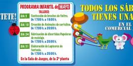 ARRANCA LA NUEVA PROGRAMACIÓN INFANTIL DE MAYO EN EL CENTRO COMERCIAL AROUSA
