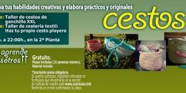 TALLERES DE CREACIÓN DE CESTOS, EL CENTRO COMERCIAL AROUSA