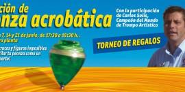 EXHIBICIONES Y CAMPEONATOS DE TROMPO ACROBÁTICO, EN EL CENTRO COMERCIAL