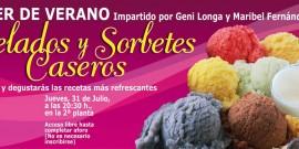 TALLER DE VERANO PARA HACER HELADOS Y SORBETES CASEROS, EN EL CENTRO COMERCIAL AROUSA