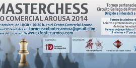 PRESENTACIÓN DEL II MASTERCHESS CENTRO COMERCIAL AROUSA
