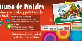 Arranca la V Edición del Concurso de postales navideñas de la Agrupación Montexiabre en el Centro Comercial Arousa