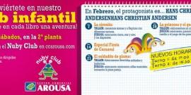 LOS CUENTOS DE HANS CHRISTIAN ANDERSEN, PROTAGONISTAS DE  LA PROGRAMACIÓN INFANTIL DE FEBRERO DEL NUBY CLUB