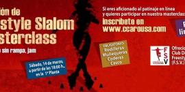 EXHIBICIÓN Y MASTERCLASS DE PATINAJE EN LÍNEA FREESTYLE, EN EL CENTRO COMERCIAL AROUSA