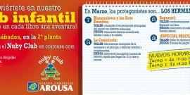 LOS CUENTOS MÁS FAMOSOS DE LOS HERMANOS GRIMM LLEGAN AL NUBY CLUB ESTE FIN DE SEMANA