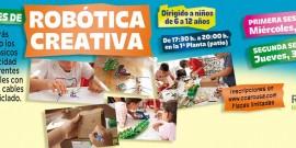 Los niños potencian sus competencias tecnológicas, en el Centro Comercial Arousa