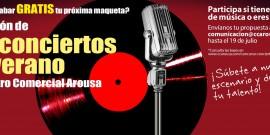 Arranca la II Edición del Concurso Los Conciertos de Verano en el Centro Comercial Arousa