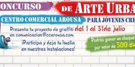 El Centro Comercial Arousa convoca el I Concurso de Arte Urbano