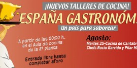 La cocina cántabra pone mañana el broche final al ciclo España Gastronómica del Centro Comercial Arousa