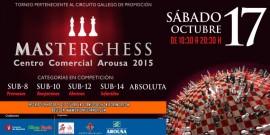 Alrededor de 180 jugadores competirán mañana en el III Masterchess Centro Comercial Arousa