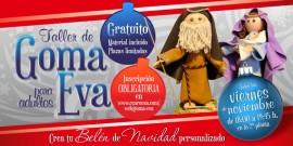 El Centro Comercial Arousa impartirá talleres de goma eva para adultos