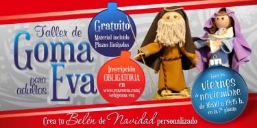 Talleres goma eva Centro Comercial Arousa
