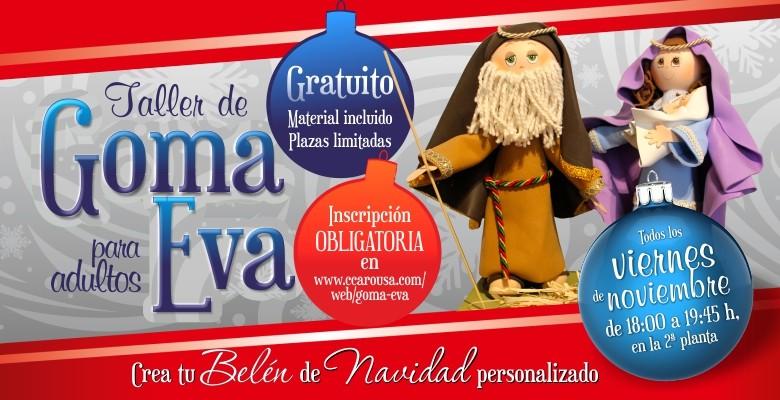 34328fac3ef El Centro Comercial Arousa impartirá talleres de goma eva para adultos