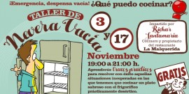 Clases de Cocina de nevera vacía en el Centro Comercial Arousa