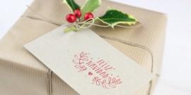 Taller gratuito de paquetería navideña