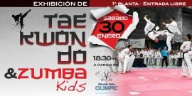 ¡Exhibición de taekwondo y zumba kids!