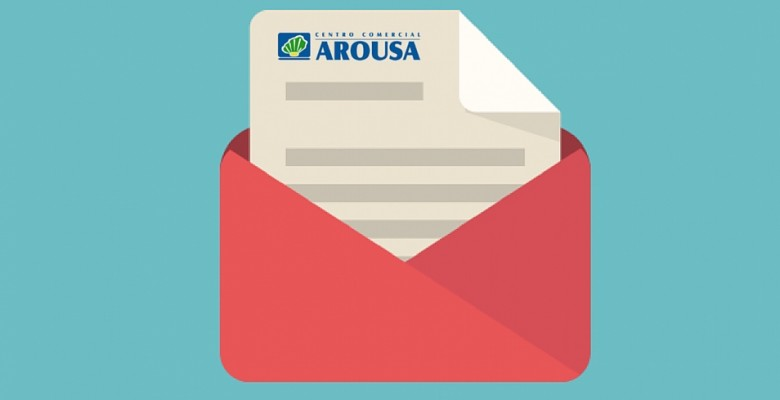 newsletter centro comercial arousa