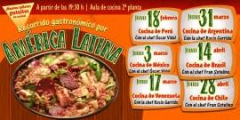 Talleres de cocina América Latina