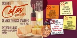 Catas: vinos y quesos gallegos