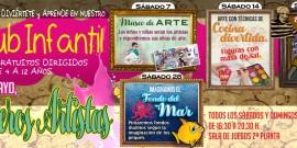 EN MAYO, PRIMEROS ARTISTAS!!