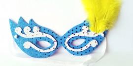 ¡Crea tu máscara de Carnaval con goma eva!